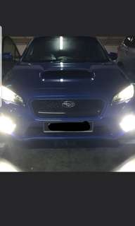 SUBARU WRX ON G20 HI BEAM / FOGLIGHT