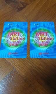 vintage year's 2000 MRT card