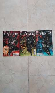 "Venom Vol 2 (Marvel Comics 3 Issues; #23 to 25, complete story arc on ""Monsters of Evil"")"
