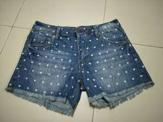 Hearth print short