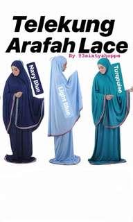 Telekung Arafah Lacr