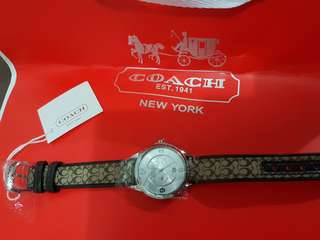 Coach style women watch (authentic)