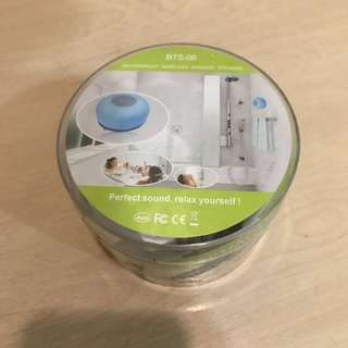 Waterproof wireless shower speaker