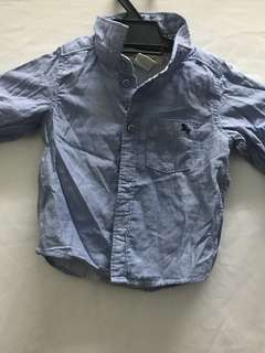 Boys collar shirt baby