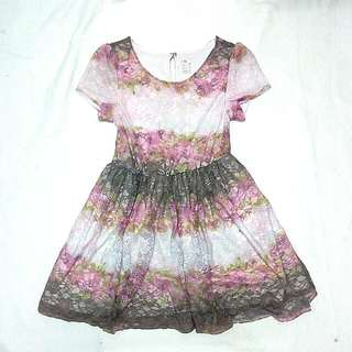 Lace dress-7/8years