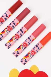 [INSTOCKS] 3CE MAISON KITSUNE Limited Edition Velvet Lip Tints