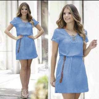 Georgia Denim dress