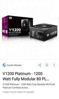 coolermaster 1200w platinum power supply