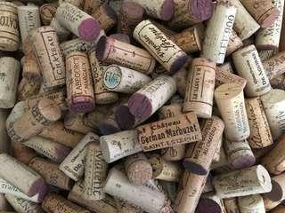 Wine corks from multiple regions