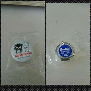 Sanrio XO襟章(1999)包郵