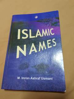 Islamic Names in English