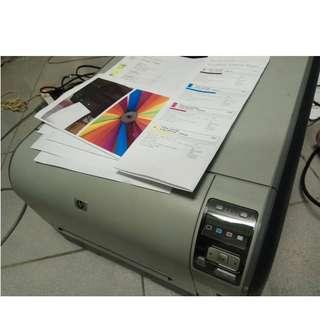 HP CP1518ni 彩色雷射印表機 二手品CM1312mfp cp1025nw CB540A 125A 碳粉匣
