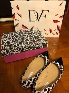 Diane von Furstenberg DVF Chain Link Flat 鎖鏈 平底鞋 (100% Authentic 真)
