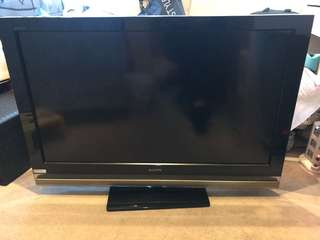 "Sony 40"" 100Hz motionflow HD tv"