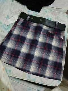 Korean Skirt with belt