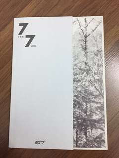 GOT7 7FOR7 Album [Present Edition]