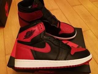 Air Jordan 1 Retro bred