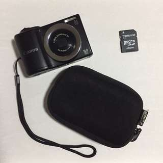 Canon Powershot A810 HD with pouch and 2GB memory Card