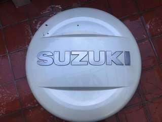 Suzuki Grand Vitara spare cover & Geolander HTS R16/225/70