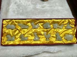 🚚 12生肖石玉