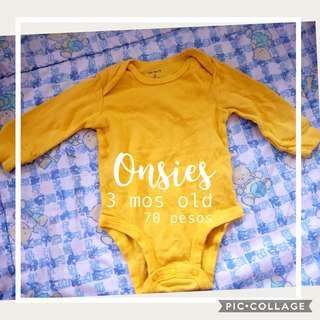 Yellow onesies
