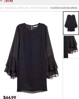 NEW H&M elegant black dress