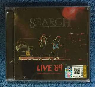 Search - Live '89 Stadium Negara KL CD