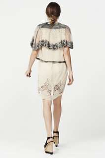 Trelise Cooper handbeaded 'wings and queens' sold out jacket