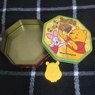 小熊維尼鐵盒 (日本帶回)