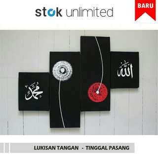 Free ongkir ART REAL-HAND BEAUTIFUL PAINTING