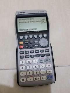 Casio Graphic fx 9860G II