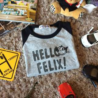 Felix The Cat Shirt [ 7-8yr ]
