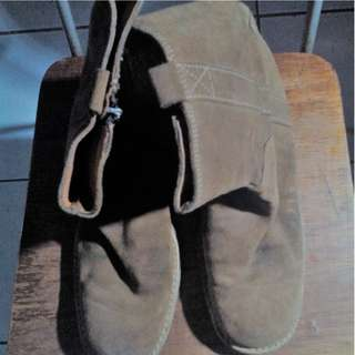 Clarks Women Suede Brown Boots