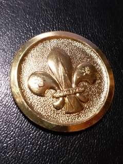 1977年 香港童軍晋為世界童軍協會成員紀念章