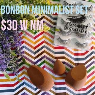 WFMSG LashOut Minimalist & BonBon MakeUp Sponges