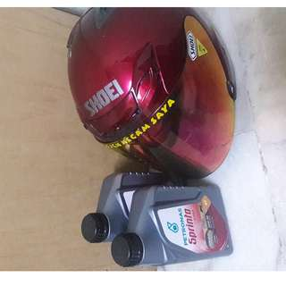 Shoei jforce 3 jf3 meroon copy ori