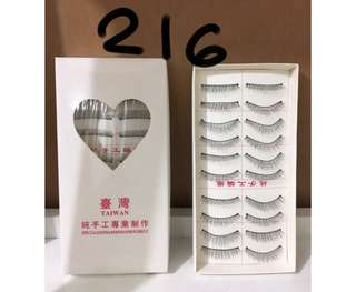 Set Taiwan False Lashes 10pairs