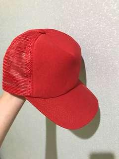 Topi merah red caps