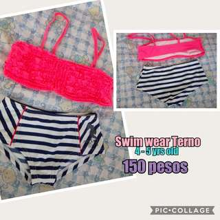 2 piece Swimwear for 4-5yrs old