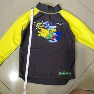 Sesame Street Rash guard/ Swimwear