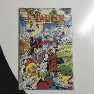 Excalibur Hardcover Marvel Comic Book