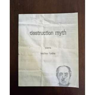 Destruction Myth by Mathias Svalina