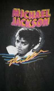 Vintage 80s 1982 Michael Jackson Thriller T-Shirt