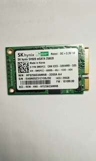 Used Hynix 256GB msata for laptop