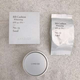 [BRAND NEW] Laneige BB Cushion Whitening Refill No. 23 Sand