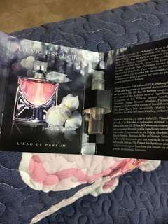 Lancome L'eau De Perfume 1.2ml