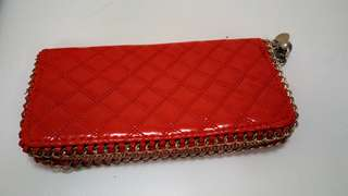 Woman Red Purse