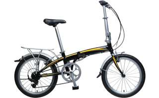 Brand New Shimano Folding Bicycle KHS F20A Sports Bike Alloy Light Weight Durable Mobile