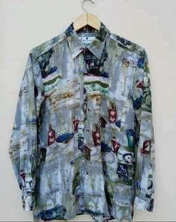 Vintage Pierre Balmain Baroque Shirt  Size
