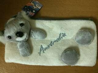 Australian Koala Velvet Bag